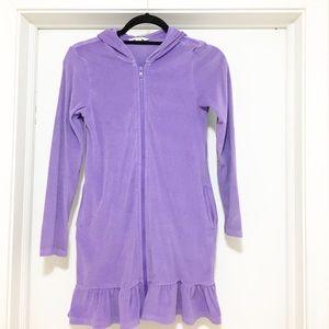 Lands end girls bathing suit coverup size M
